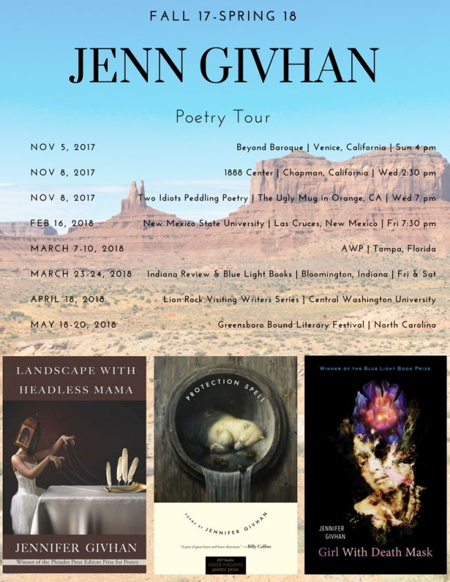 Jenn Givhan Southern California Poetry Reading