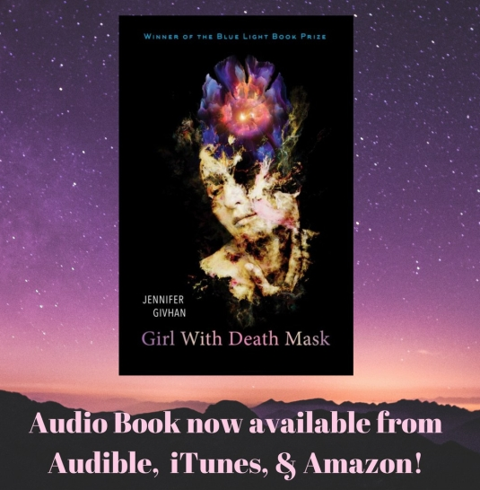 Girl with Death Mask audio book announcement